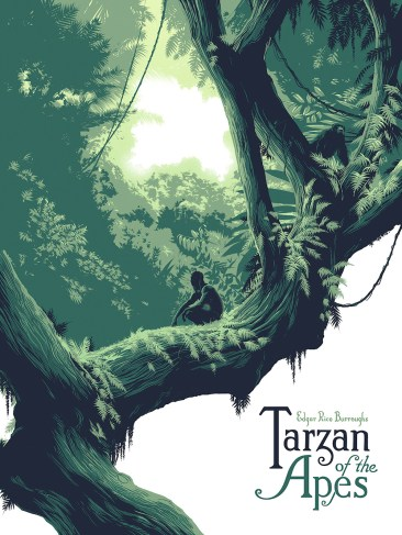 Tarzan of the Apes - Matt Taylor Print