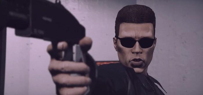 Terminator 2 Remake in Grand Theft Auto V