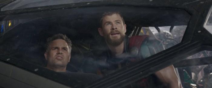 Thor Ragnarok - Thor and Bruce Banner