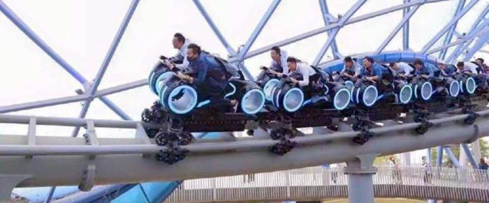 TRON Ride Video