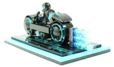 TRON Legacy LEGO Light Cycle