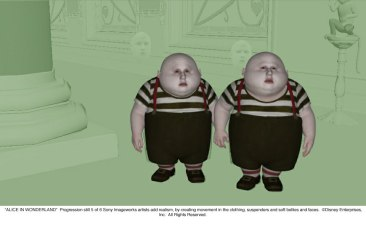 Alice in Wonderland: Tweedles Progression 5 of 6