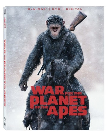 War for the Planet of the Apes Blu-ray - Planet of the Apes Prequel Trilogy
