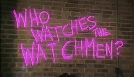 who watches the watchmen? tv