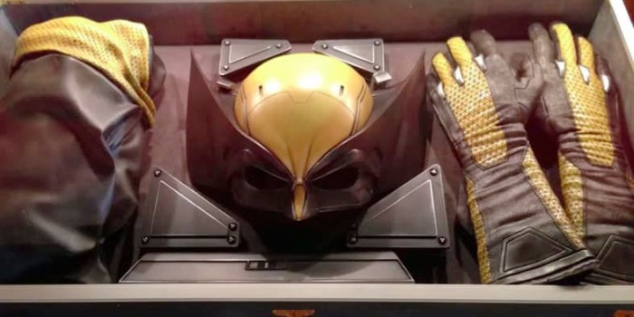 Wolverine Yellow Suit in Logan