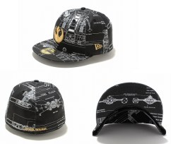 New Era Japan's 59Fifty fitted Star Wars Caps - X-Wing