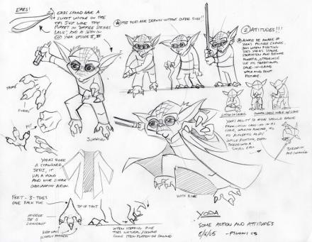 The Clone Wars - Yoda Concept Art