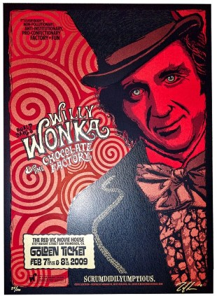 Zoltron's Willy Wonka and the Chocolate Factory Poster