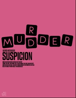 Mario Graciotti's Poster for Alfred Hitchcock's Suspicion