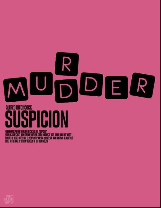 Mario Graciotti's Poster for Hitchcock's Suspicion