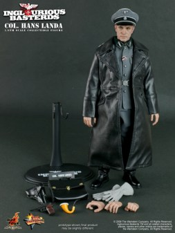 Hot Toys - MMS134 - Inglourious Basterds: 1/6th scale Col. Hans Landa Collectible Figure