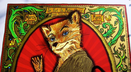 Zoltron's Fantastic Mr. Fox Poster