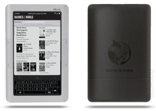 Barnes and Noble Ereader, the Nook