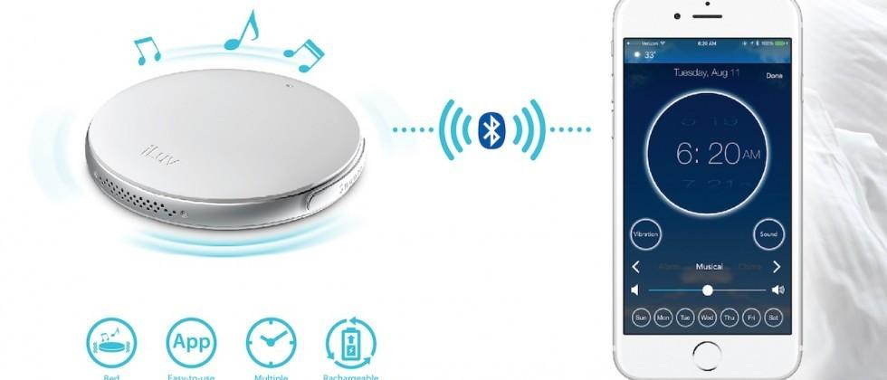 iluv debuts an alarm clock that can