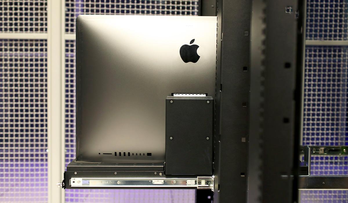 this imac pro server rack is both