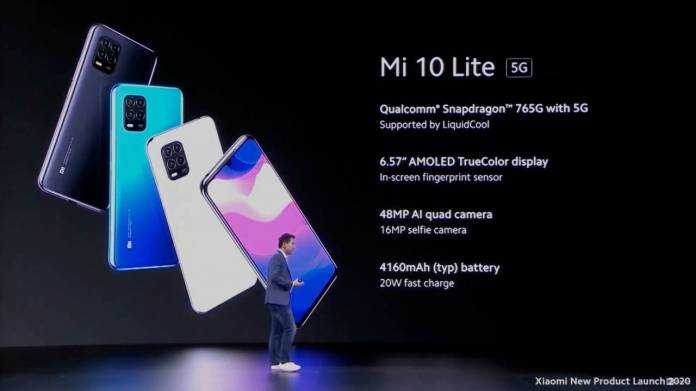 Xiaomi Mi 10 Lite 5G revealed with Mi 10 and Mi 10 Pro release ...