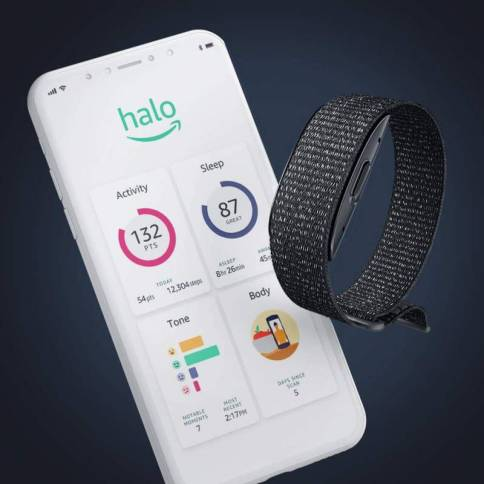 Amazon Halo fitness band has microphones to track your voice tone