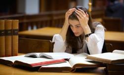 Stressed Grad Student