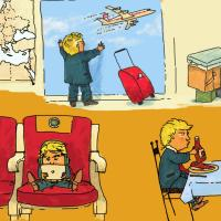 My First Big Boy Trip by Donald J. Trump