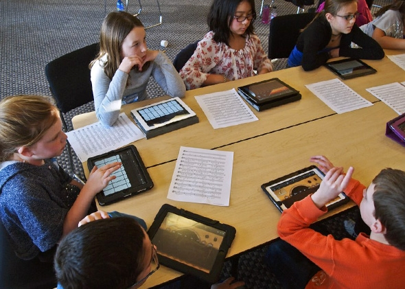 Tablets are costly, but can open doors to new educational experiences.