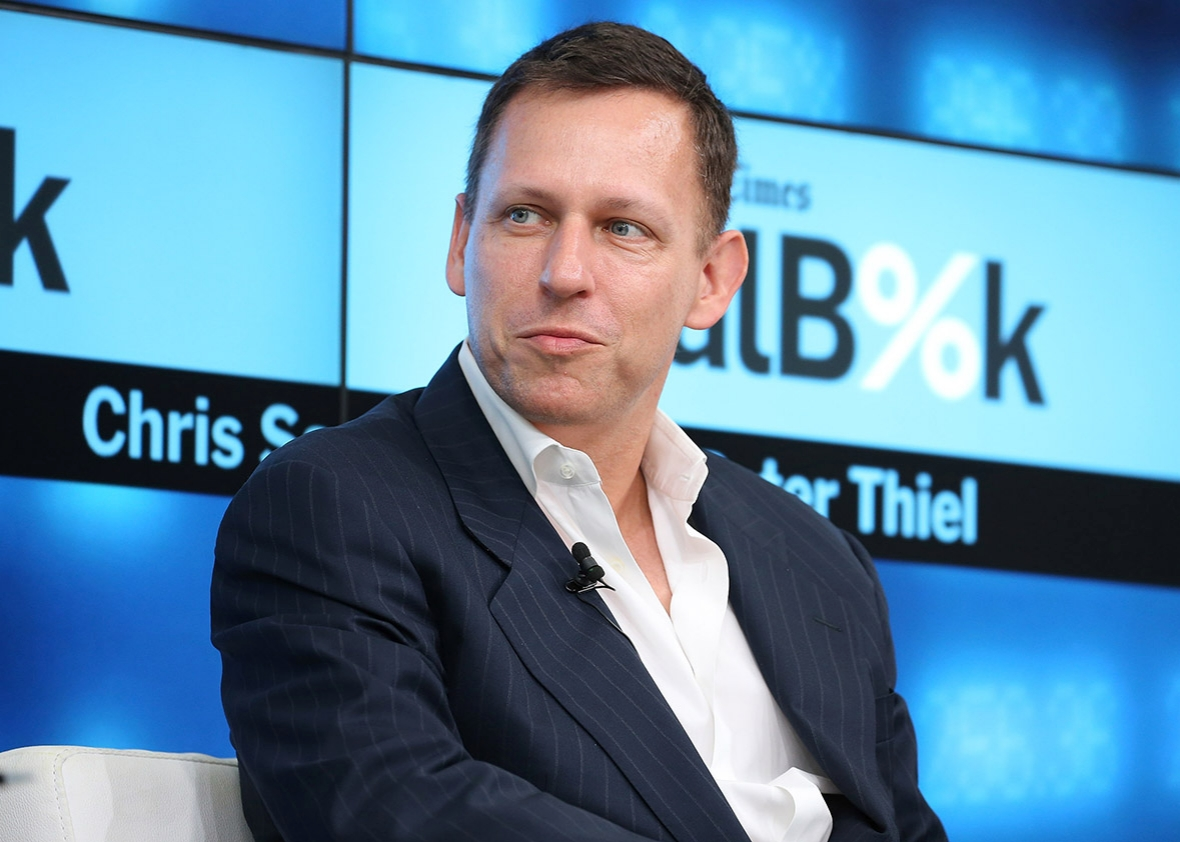 Image result for photo of peter thiel