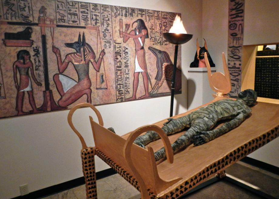 Fantasy Coffins At The National Museum Of Funeral History