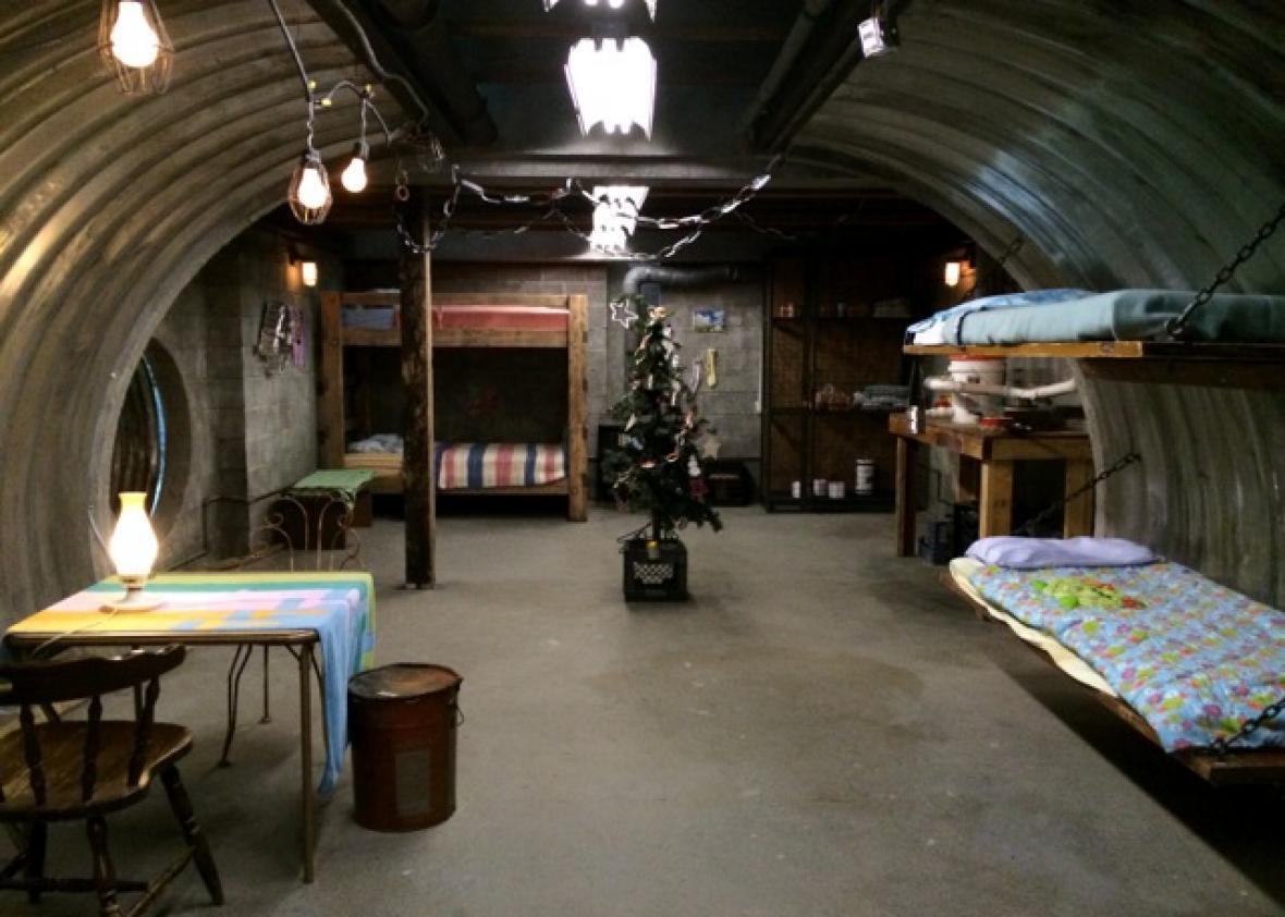Supernatural Bunker Floor Plan