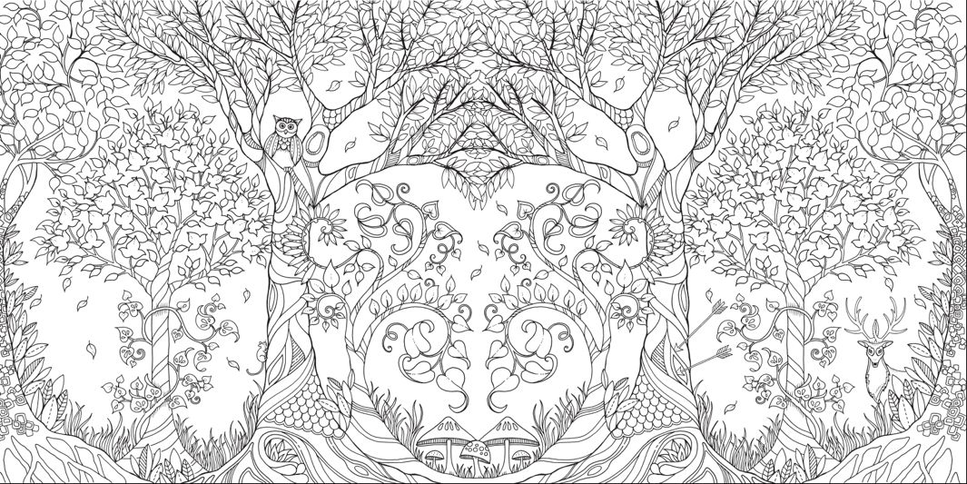 these coloring books for adults are more addictive than smartphones