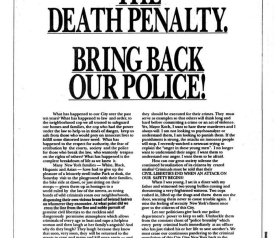 Image result for trump ads for central park five
