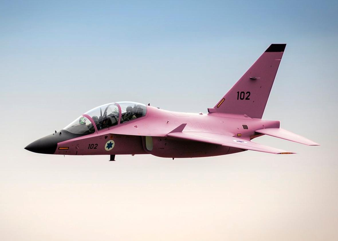 Image result for idf pink fighter jet breast cancer