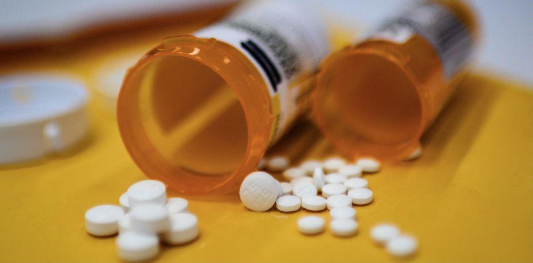 Cachets d'oxycodone prescrits par un médecin, 18 septembre2019, Washington,DC.| ERIC BARADAT / AFP