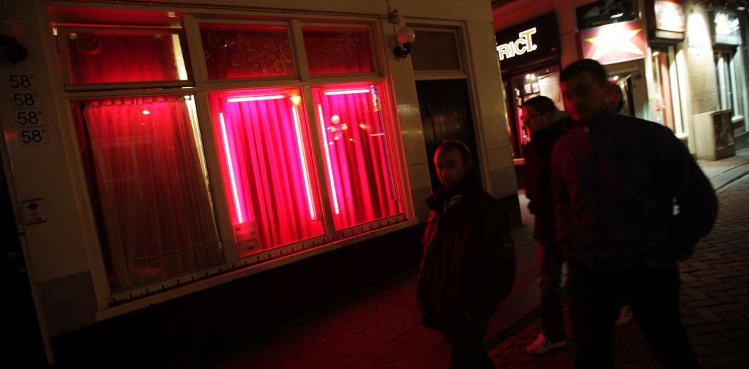 Le quartier rouge est l'une des zones les plus touristiques d'Amsterdam.| Anoek De Groot / AFP