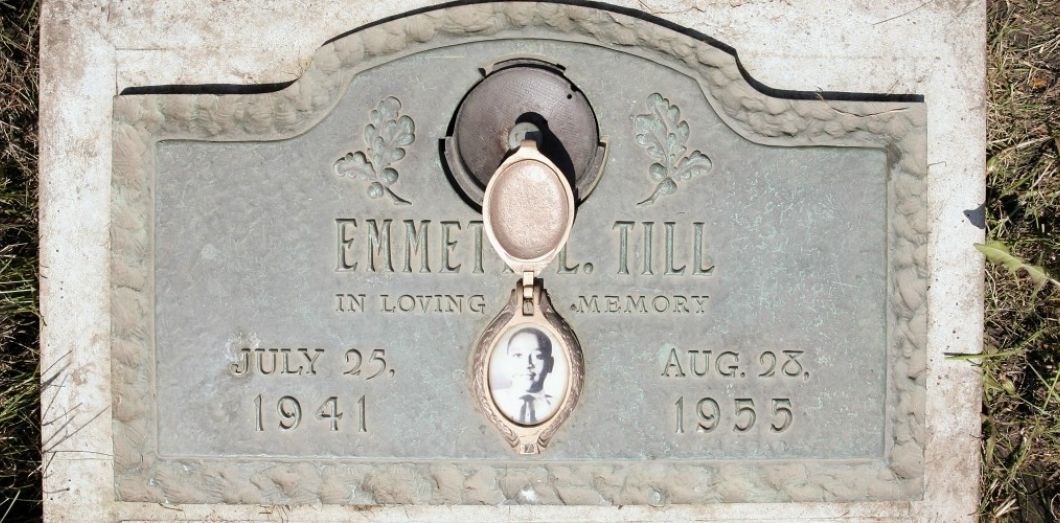 La tombe d'Emmett Till dans l'Illinois. | Scott Olson / Getty images / AFP
