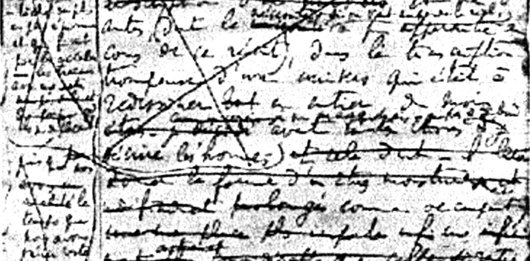 La dernière page du manuscrit d'À la recherche du temps perdu.|Zyephyrusvia Wikimedia