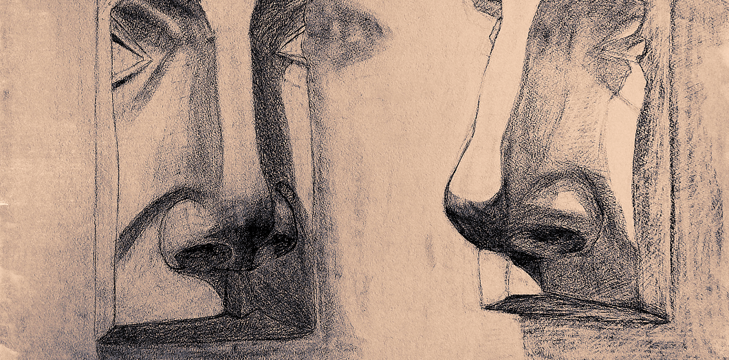 nose draw | Valeri Pizhanski via Flickr CC License by
