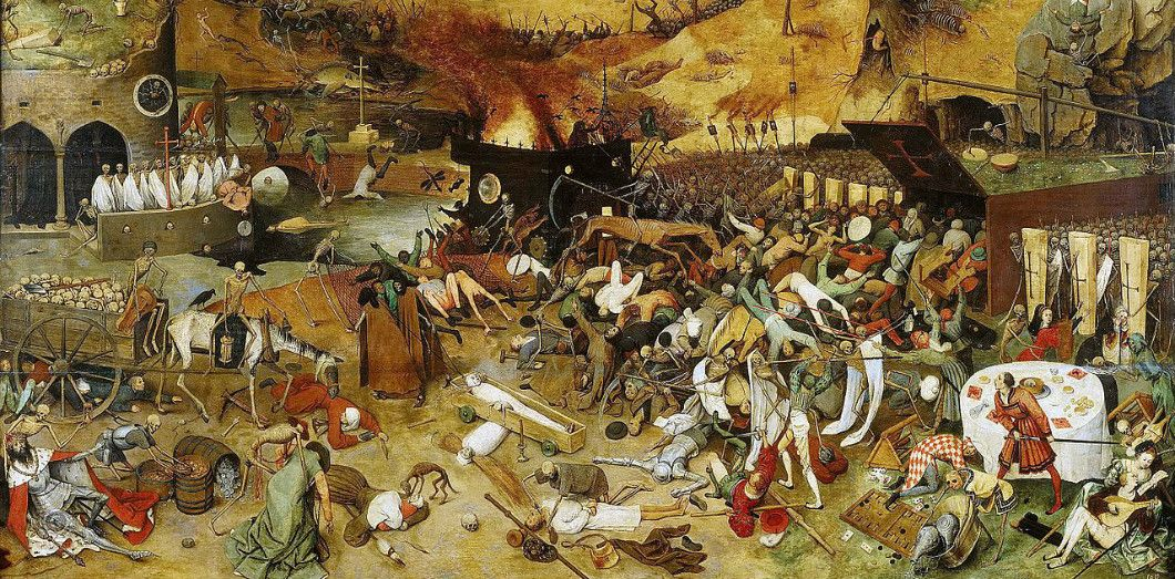 «Le Triomphe de la Mort» par Pieter Brueghel l'Ancien, 1562 | Museo del Prado via Wikimedia Commons License by