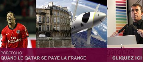 La liste des «biens» français acquis par le Qatar