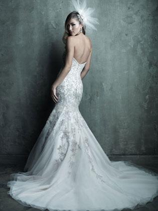 Allure Bridals C283 (back)