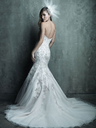 Allure Bridals C283 (back)