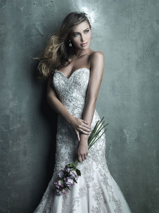 Allure Bridals C283 (front)