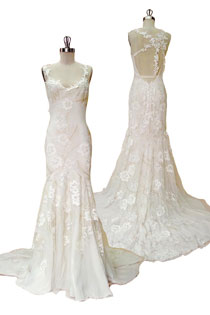 Claire Pettibone Devotion wedding dress