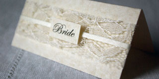 Elegance place name card