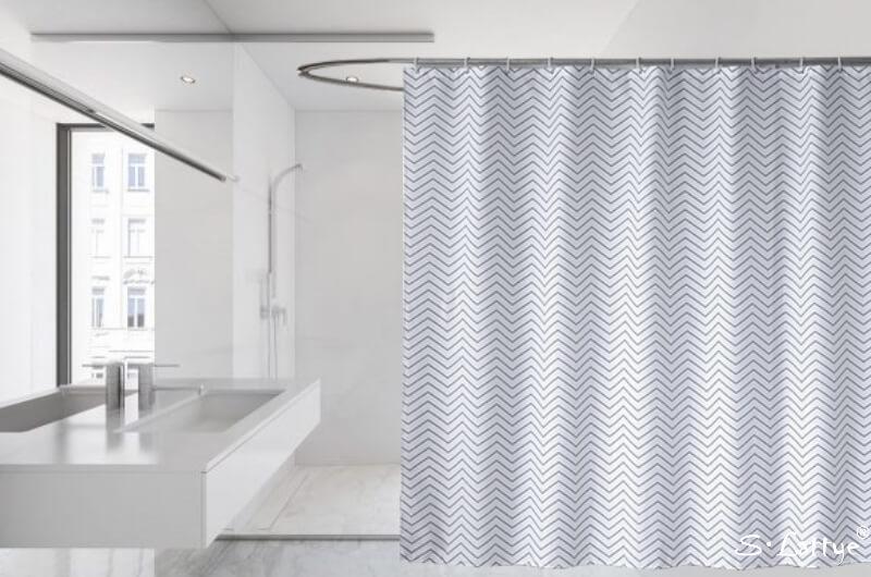basics of choosing shower curtains