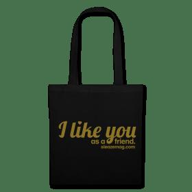 I like you Tasche schwarz/gold