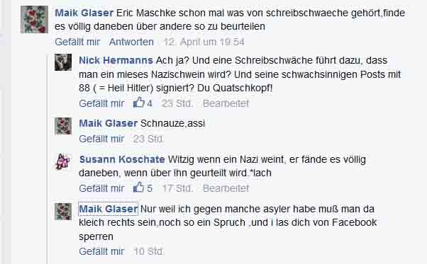 6. Wenn Legasthenie Dazu Führt, Dass Man Nazi Wird, Ist Das Nazisein Also  Eine Krankheit? Gewagte Theorie. Wir Warten Mal Ab, Was Galileo Dazu Sagt.