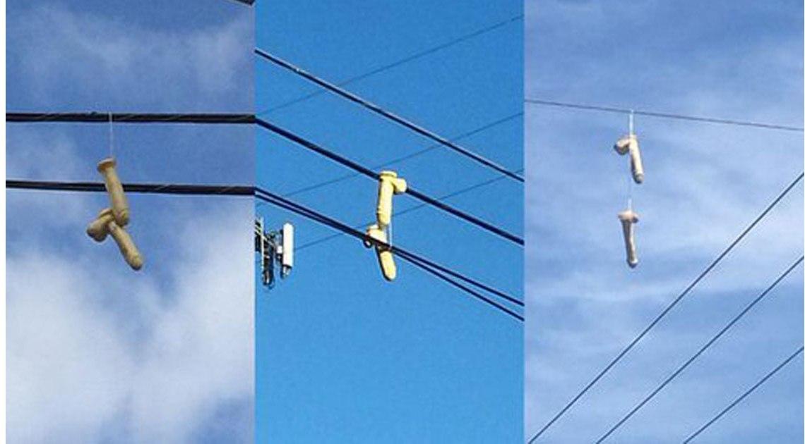 Dildo unter Strom Portland