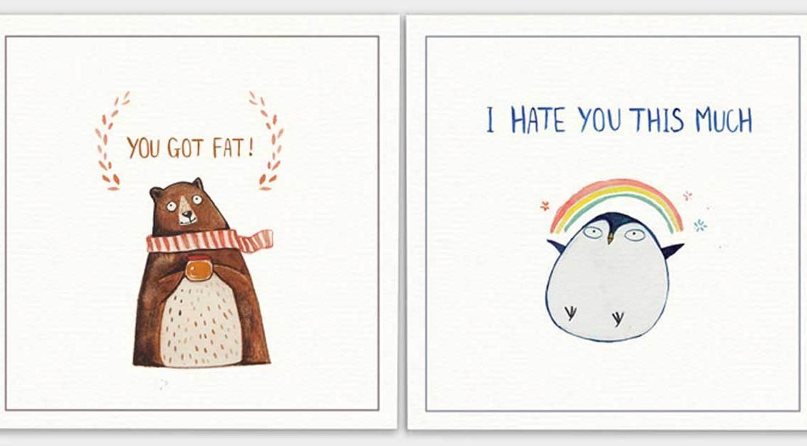 böse postkarten mit tieren copyright PHUNG NGUYEN QUANG