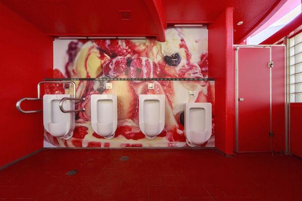 Kuchen-Toilette