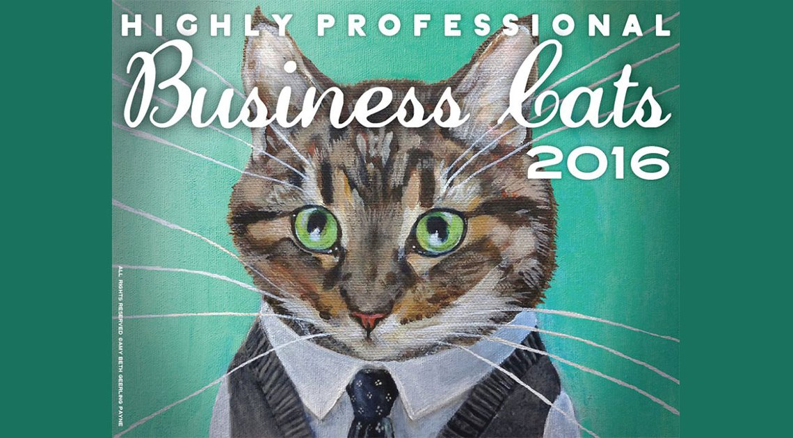 Business Cats Kalender