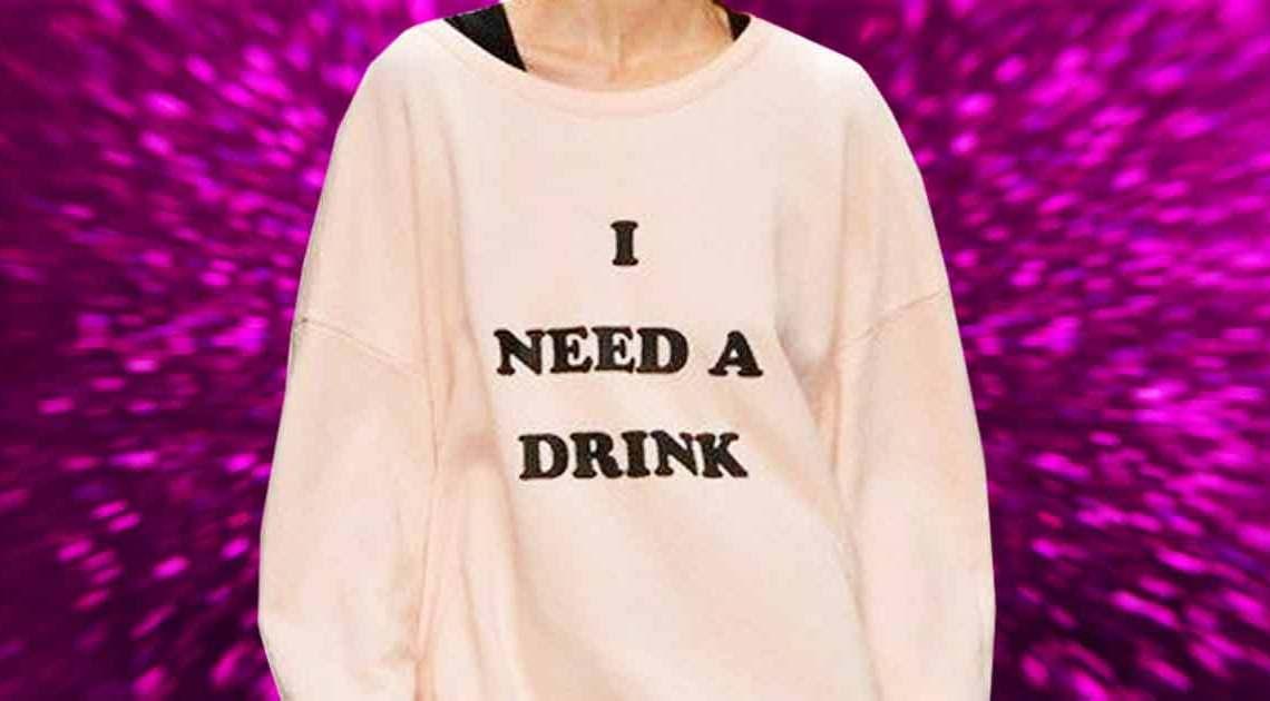 sekttest i need a drink